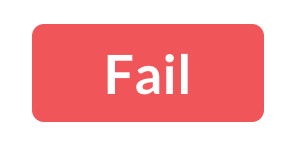Rating label for Fail