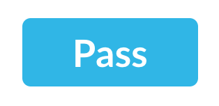 Rating label for Pass